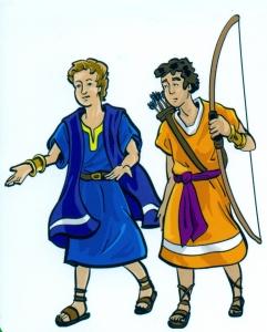 1 dawid i jonatan